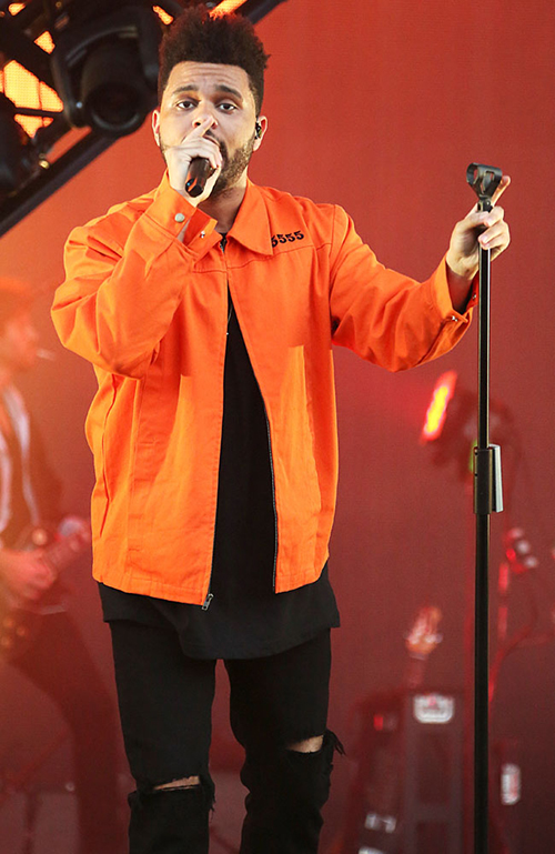 The Weeknd, puma