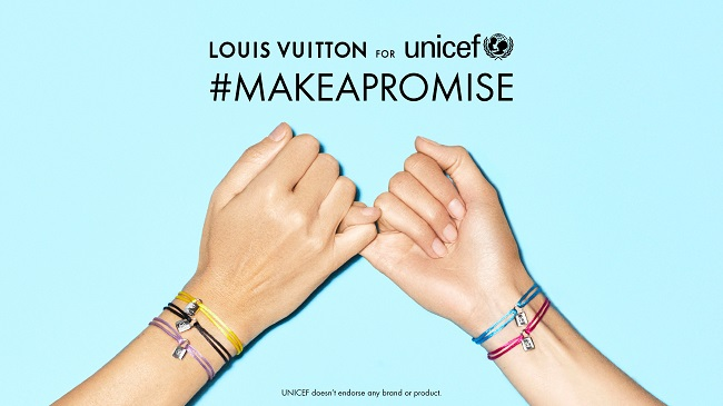 Louis Vuitton,LOUIS VUITTON for UNICEF,MAKEAPROMISE,Lockit,ルイヴィトン