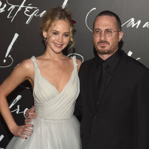 """Jennifer Lawrence and Darren Aronofsky attend the New York Premiere of Paramount Pictures """"Mother"""" on September 13, 2017 at Radio City Music Hall in New York, New York, USA."""