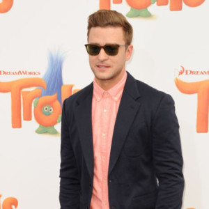 The Los Angeles premiere of Trolls held at the Regency Village Theater Westwood, CA. October 23, 2016.  Pictured: Justin Timberlake Ref: SPL1371018  231016   Picture by: Fitzroy Barrett / Splash News  Splash News and Pictures Los Angeles:310-821-2666 New York:212-619-2666 London:870-934-2666 photodesk@splashnews.com
