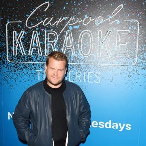 Celebrities attend the 'Carpool Karaoke' Series Launch Party in Los Angeles, CA.   Pictured: James Corden Ref: SPL1550509  070817   Picture by: SAF / Splash News  Splash News and Pictures Los Angeles:310-821-2666 New York:212-619-2666 London:870-934-2666 photodesk@splashnews.com