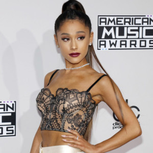 Ariana Grande at the 2016 American Music Awards held at the Microsoft Theater in Los Angeles, USA on November 20, 2016.