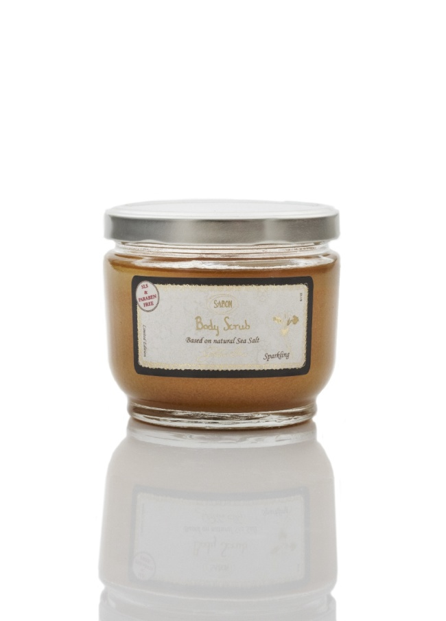 Body Scrub Golden Iris_S