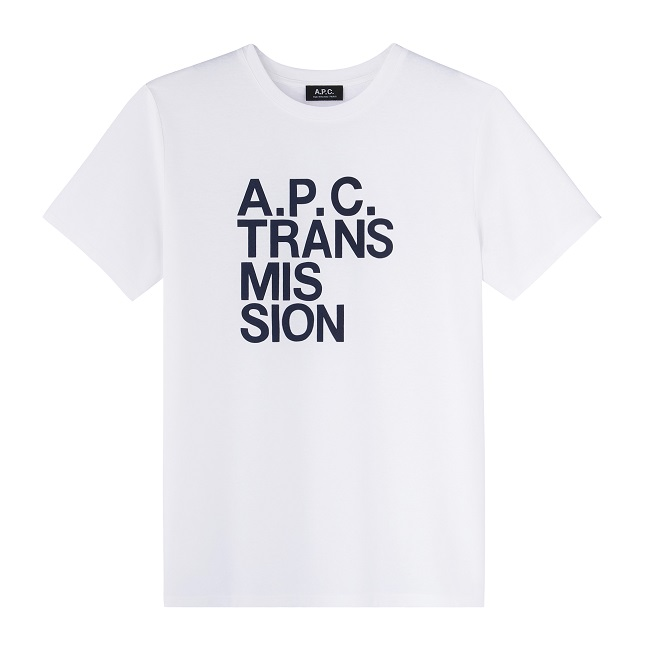 A.P.C. TRANSMISSION T-SHIRT①_10,000yen+税