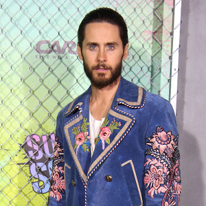 JARED LETO attends the ''Suicide Squad'' World Premiere.The Beacon Theater, NYC.August 1, 2016.Photos by , Photos Inc 2016.