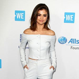 Selena Gomez   at WE Day California in Los Angeles