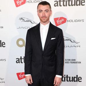 Sam Smith attends the Attitude Magazine Awards, London, UK