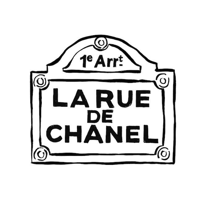 La Rue de CHANEL 看板ビジュアル