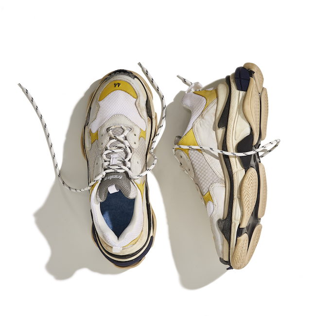 BALENCIAGA TRIPLE S exclusive DSM