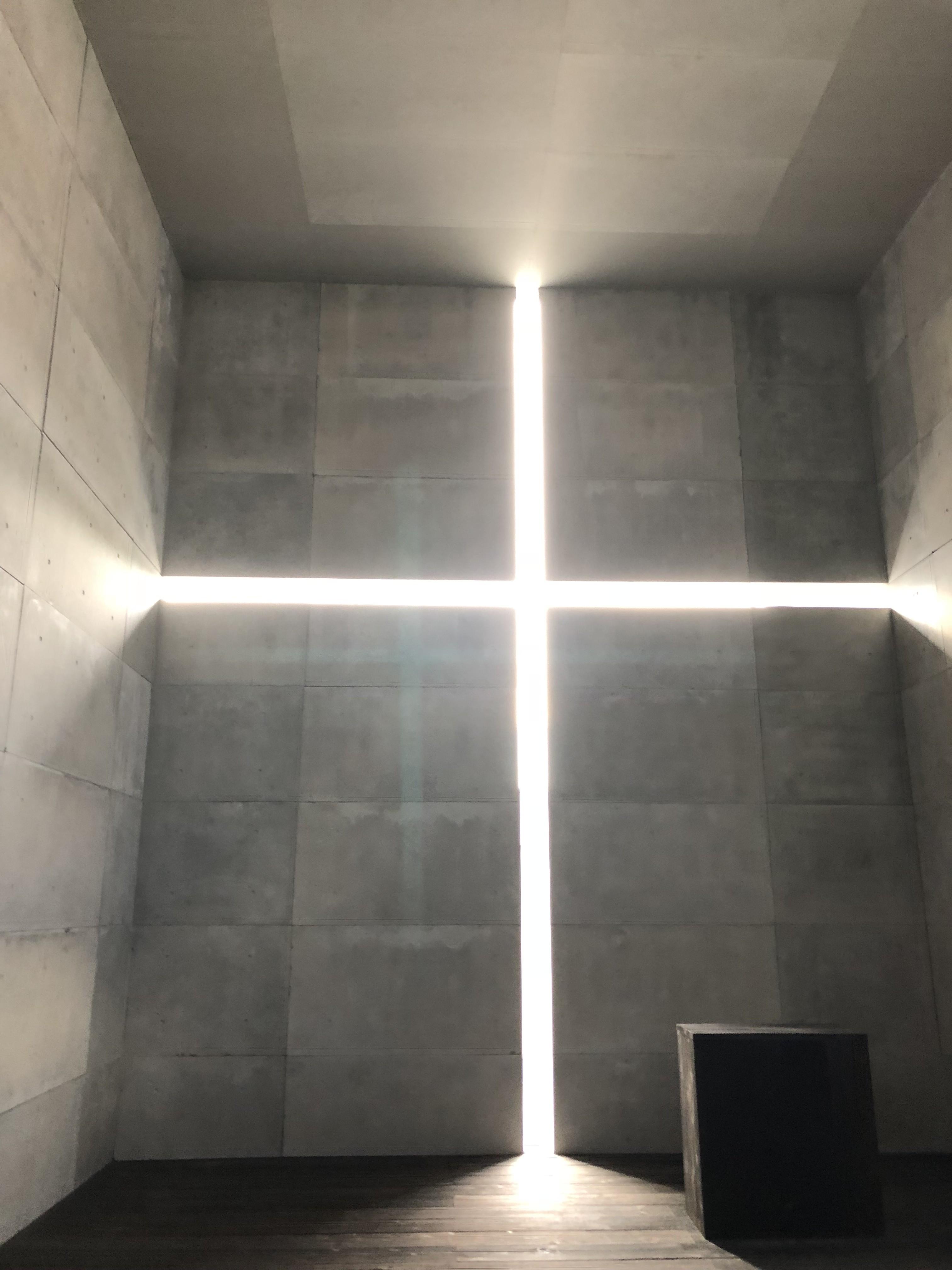 安藤忠雄、光の教会、国立新美術館、挑戦