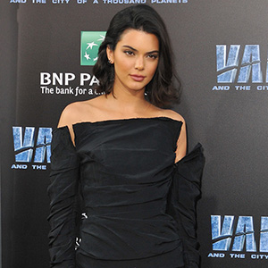 Kendall Jenner at the World premiere of 'Valerian And The City Of A Thousand Planets' held at the TCL Chinese Theatre in Hollywood, USA on July 17, 2017.