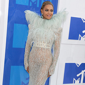 Beyonce attends the MTV Video Music Awards, VMAs, at Madison Square Garden in New York City, USA, on 28 August 2016.