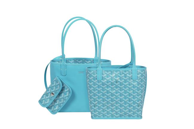 Cabas Anjou Mini Turquoise