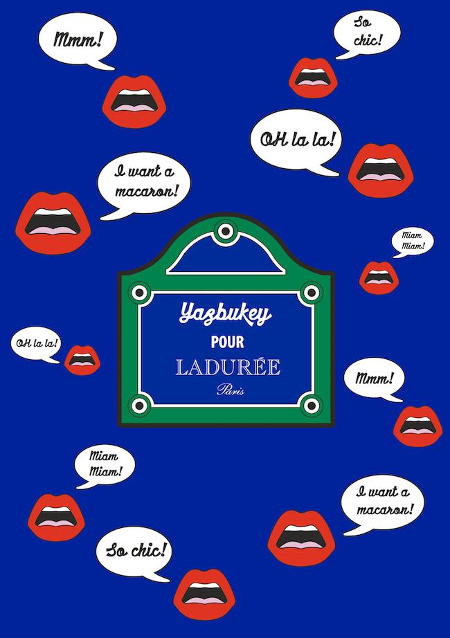 Laduree x Yazbukey