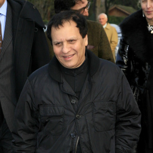 Celebrities attend the Dior Fashion Show in Paris.  Pictured: Azzedine Alaia        Ref: KCS 220107 O   Splash News and Pictures Los Angeles:	310-821-2666 New York:	212-619-2666 London:	207-107-2666 photodesk@splashnews.com www.splashnews.com