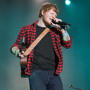 ED Sheeran performs on The Pyramid Stage at Glastonbury Festival 2017 Worthy Farm, Pilton, England, UK on Sunday 25 June, 2017.