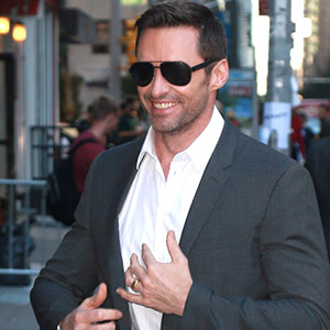 Hugh Jackman at 'Late Show with Stephen Colbert' in New York City.   23 September 2015 BANG MEDIA INTERNATIONAL FAMOUS PICTURES 28 HOLMES ROAD LONDON NW5 3AB UNITED KINGDOM tel +44 (0) 20 7485 1005 e-mail pictures@famous.uk.com www.famous.uk.com DARA000704