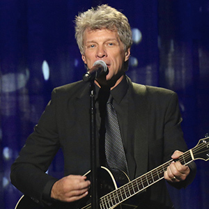 Jon Bon Jovi performs at the 10th Annual Clinton Global Citizen Awards at the Sheraton Hotel on September 19, 2016 in New York City.  By Line: Nancy Rivera/ACE Pictures  FAMOUS PICTURES AND FEATURES AGENCY 13 HARWOOD ROAD LONDON SW6 4QP UNITED KINGDOM tel +44 (0) 20 7731 9333 fax +44 (0) 20 7731 9330 e-mail info@famous.uk.com www.famous.uk.com FAM18238