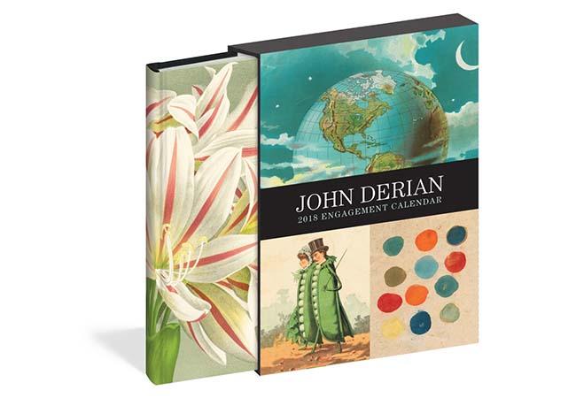 カレンダー、JOHN DERIAN、ジョン・デリアン