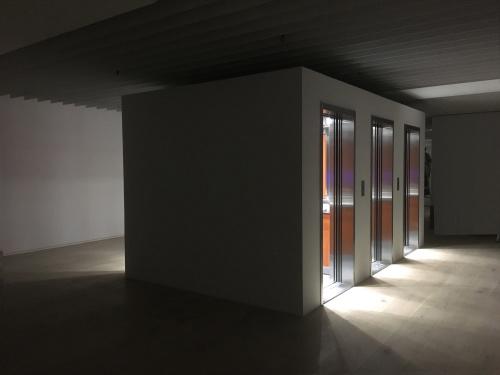 Leandro Erlich,Elevator Maze,2017,260.4x496.5x292.7cm,mixedmedia