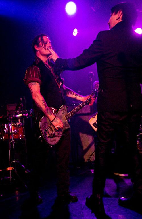 ジョニー・デップ, Johnny Depp, マリリン・マンソン, Marilyn Manson