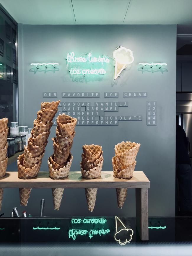 スリーツインズアイスクリーム, three twins ice cream, cosme kitchen, 代官山, アイスクリーム
