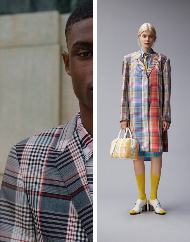 """THOM BROWNE DOES MADRAS"""