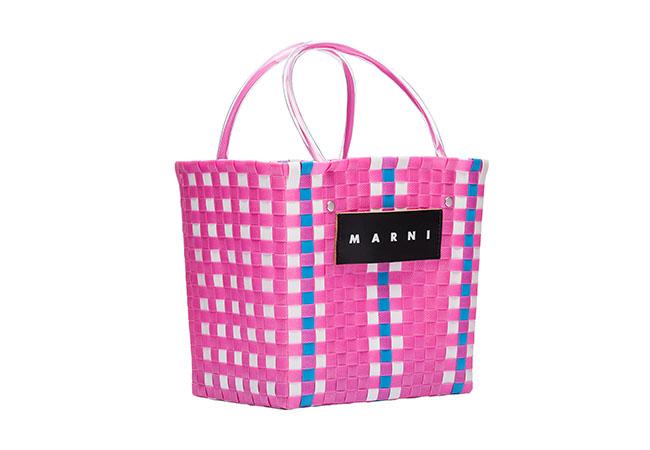 ピクニックバッグ ミニ(ピンク、W22xH22xD14cm )¥16,000