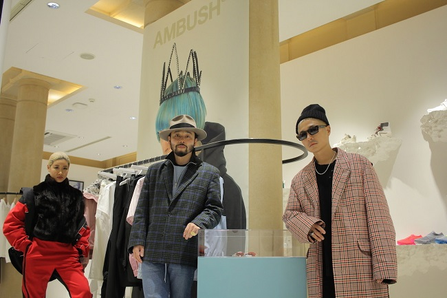 "AMBUSH®,YOON,VERBAL,NITED ARROWS & SONS,小木""POGGY""基史"