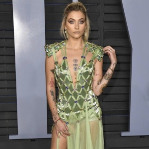 Stars arrive at the Vanity Fair Oscar Party in Los Angeles  Pictured: Paris Jackson Ref: SPL1667800  060318   Picture by: AdMedia / Splash News  Splash News and Pictures Los Angeles:310-821-2666 New York:212-619-2666 London:870-934-2666 photodesk@splashnews.com