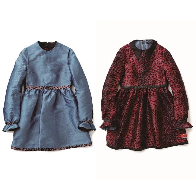 リバーシブル ミニドレス ¥84,000