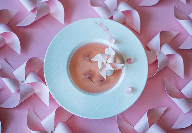 ph1「Pink Petals」スペシャルスイーツ ¥1,600