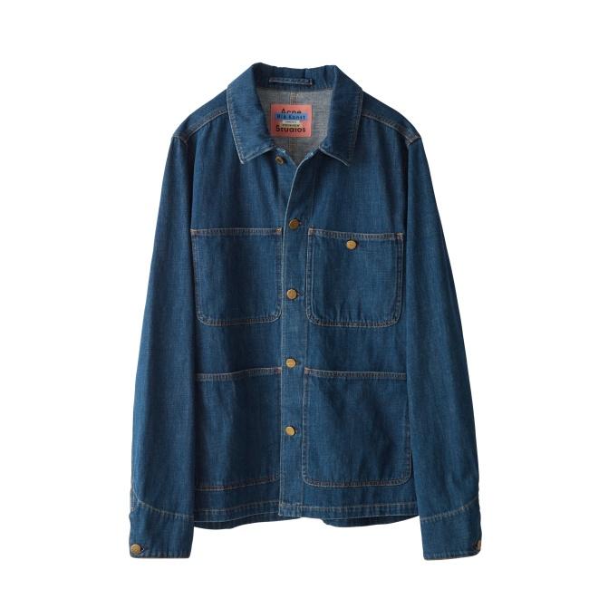 インディゴブルー ジャケット¥47,000