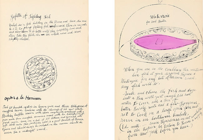 Andy Warhol 左より¥100,000、¥280,000