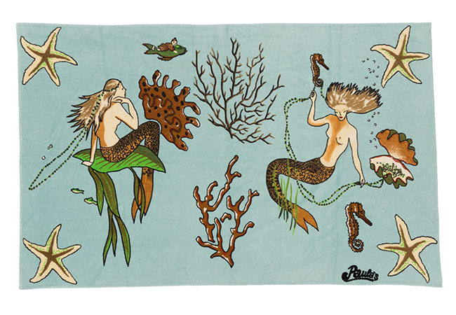 105X170 PAULA MERMAID TOWEL ¥79,000