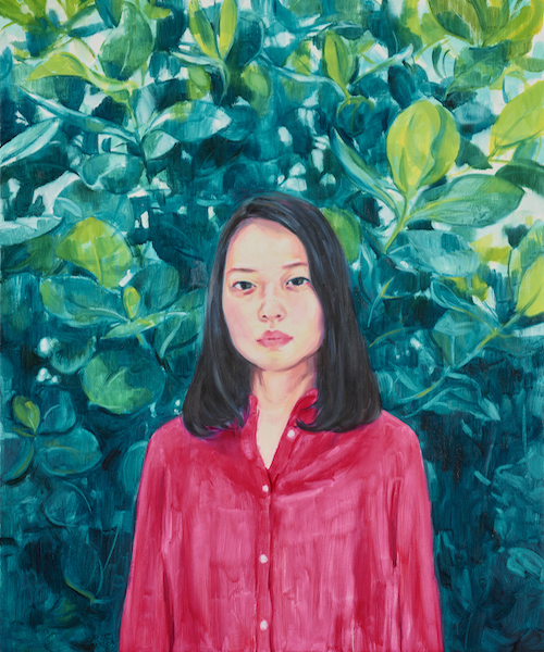 「Akina」2018 / oil on canvas ©Mana Konishi