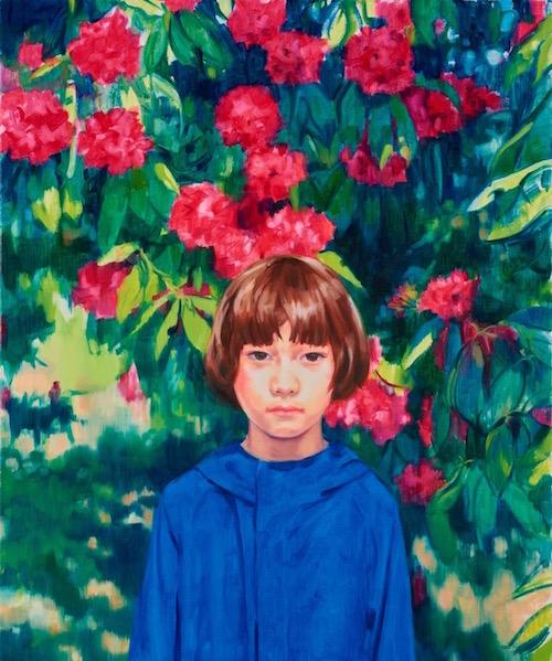 「Alex」2018 / oil on canvas ©Mana Konishi