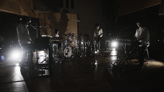 Cornelius スタジオライブ撮影の様子(撮影:稲垣哲朗)