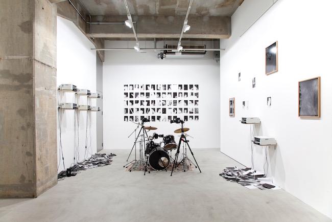 『Doors』展示風景、ユカ・ツルノ・ギャラリー、2018