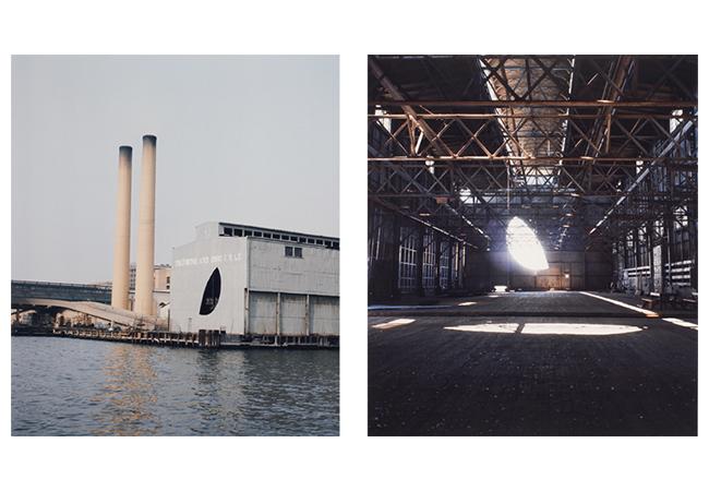 4.《日の終わり》1975年 ゴードン・マッタ=クラーク財団&デイヴィッド・ツヴィルナー(ニューヨーク)蔵