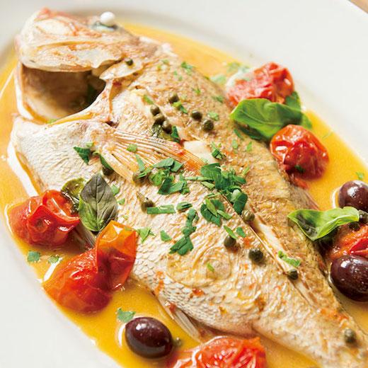 じっくりと味わいたい、自然体のシチリア料理。葉山「Piscaria」