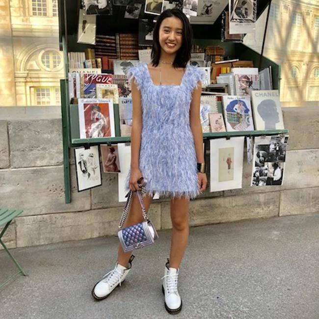 新星モデルkōki,、工藤静香とともにシャネルのショーに初出席!