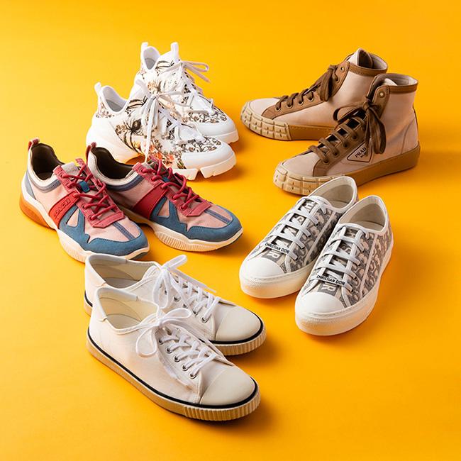 【連載】毎日履きたくなる、人気ブランドのスニーカー
