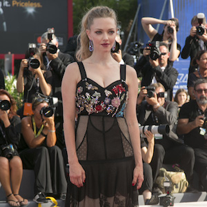 Amanda Seyfried attends the premiere of 'First Reformed' during the 74th Venice Film Festival at Palazzo del Cinema in Venice, Italy, on 31 August 2017. Photo: BANG MEDIA INTERNATIONAL FAMOUS PICTURES 28 HOLMES ROAD LONDON NW5 3AB UNITED KINGDOM tel +44 (0) 20 7485 1500 e-mail pictures@famous.uk.com www.famous.uk.com HB00351