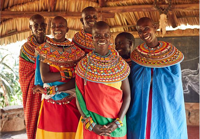 北部ケニアに暮らすサンブル族