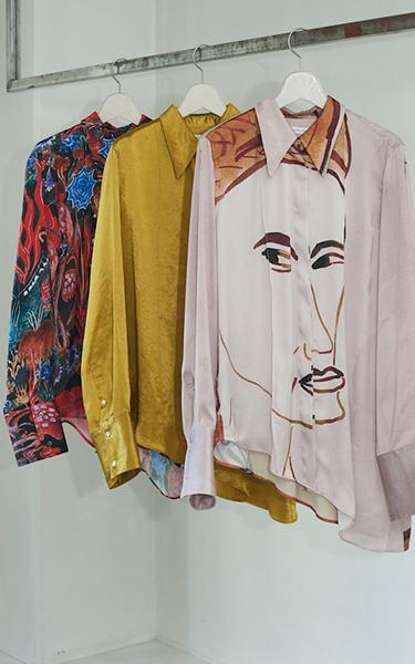 【連載】<br /> これからの服作りを探る<br /> デザイナー訪問記