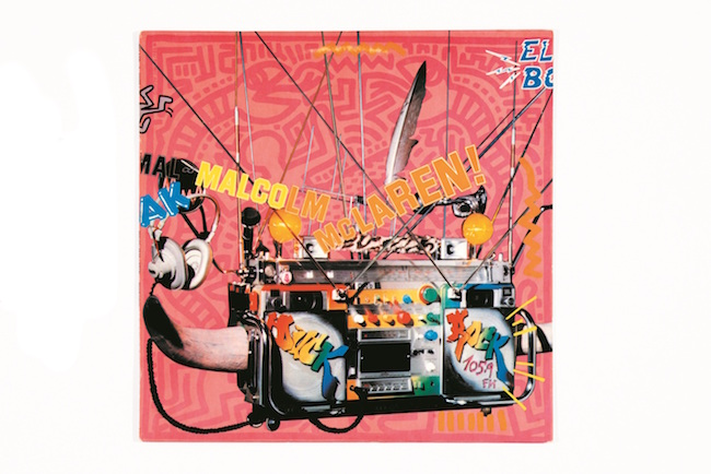 レコード・カバー Duck Rock, Malcolm McLaren,1983