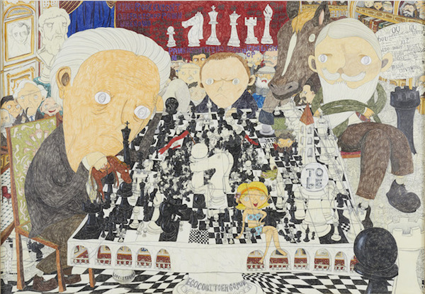 『Chess』(2018年) ©Shintaro Miyake, Courtesy of Tomio Koyama Gallery