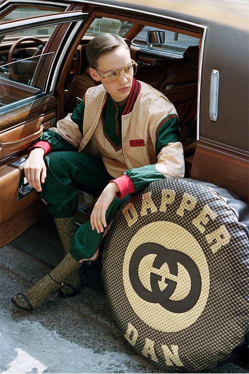 "official photos 149c9 c25ec Gucci」伝説のデザイナー""ダッパー・ダン""へオマージュ | Numero ..."