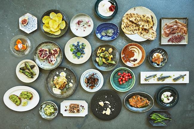 「はたらく器、おいしい皿。2018」展 イメージ